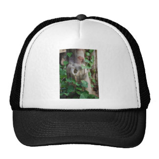 ivy knot tree trunk cap