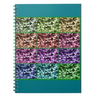 Ivy Leaf Colour Progression Notebook