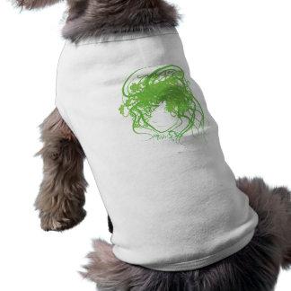 Ivy Medusa Green Pet Tshirt