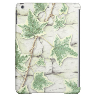 Ivy on a Dry Stone Wall in Pencil iPad Air Case