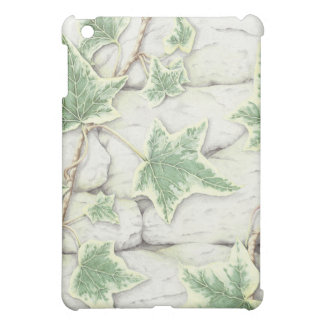 Ivy on a Dry Stone Wall in Pencil iPad Mini Case