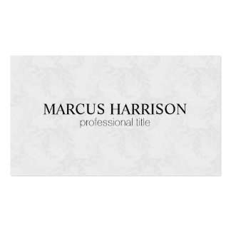 Ivy Pack Of Standard Business Cards