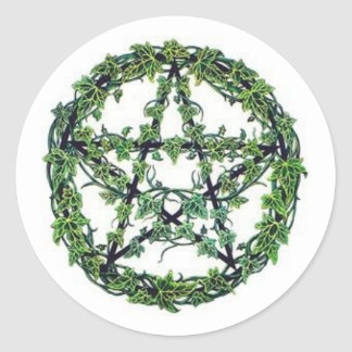 Ivy Pentacle Sticker