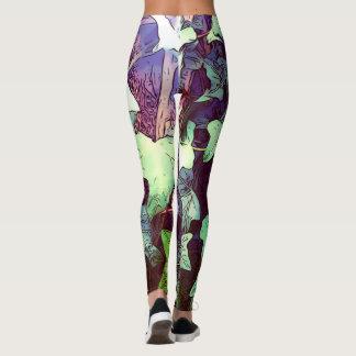 Ivy print leggings