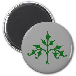 Ivy Tree 6 Cm Round Magnet