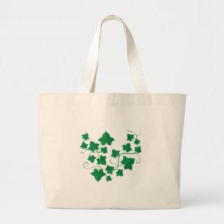 Ivy Vines Large Tote Bag
