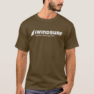iW Men's Brown T-Shirt