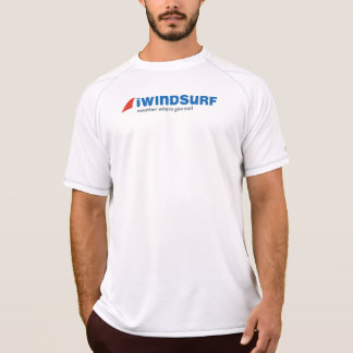 "iW Men's White ""Running"" Shirt"