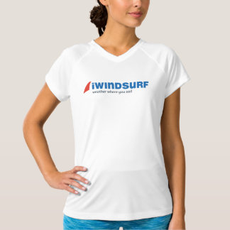 "iW Women's White ""Running"" Shirt"