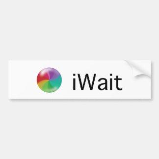iWait Bumper Sticker
