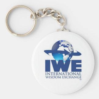 IWE Brand Designs Basic Round Button Key Ring