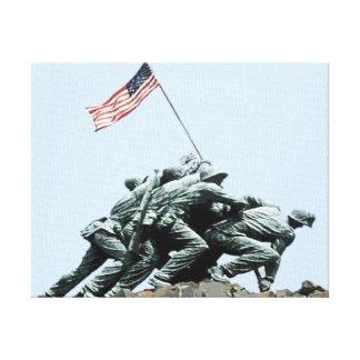 Iwo Jima Stretched Canvas Print