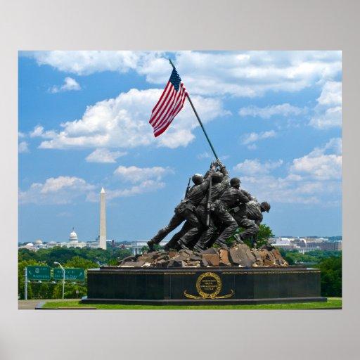 Iwo Jima - Cityscape Poster