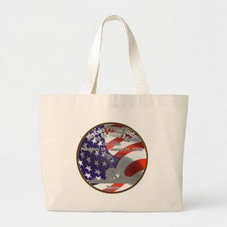 Iwo Jima Commemorative Coin Jumbo Tote Bag