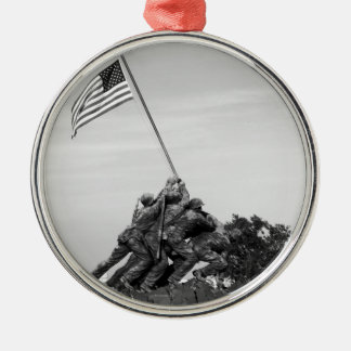 Iwo Jima Memorial Christmas Ornament