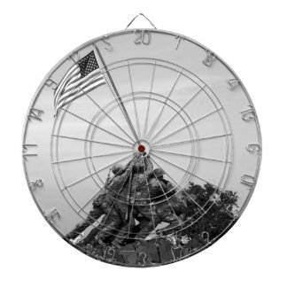 Iwo Jima Memorial Dartboard