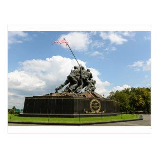 Iwo Jima Memorial in Washington DC Postcard