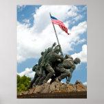 Iwo Jima  - West Side View Print