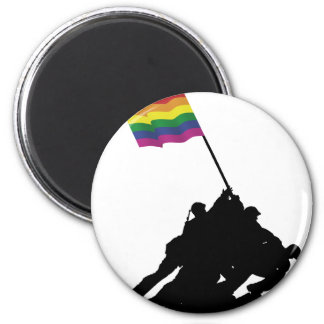 Iwo the Most gay Jima 6 Cm Round Magnet