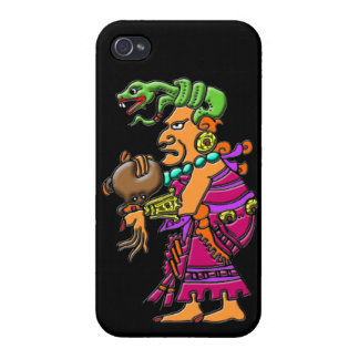 Ix Chel Mayan medicine goddess colorful image Case For iPhone 4