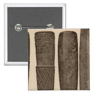 IX Stone pipes, So Calif 15 Cm Square Badge