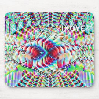 IXOYE fish camouflaged Mousepad