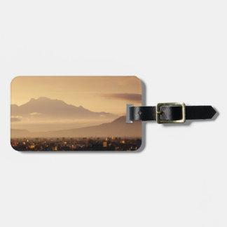 Ixtaccihuatl Volcano Luggage Tag