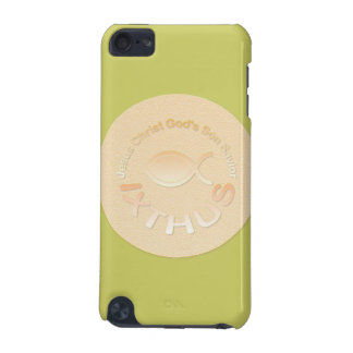 IXTHUS Christian Fish Symbol - GOLD iPod Touch (5th Generation) Cover