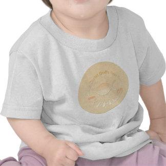 IXTHUS Christian Fish Symbol - GOLD Shirt