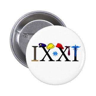 IXXI  Remember 9-11 6 Cm Round Badge
