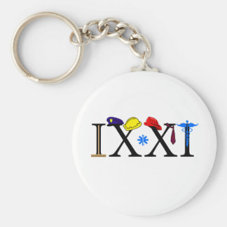 IXXI  Remember 9-11 Basic Round Button Key Ring