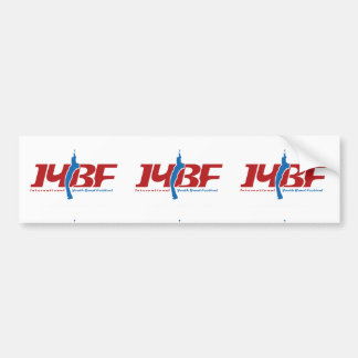 IYBF Logotype Bumper Sticker