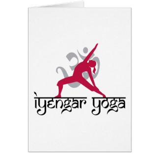Iyengar Yoga Pose Card