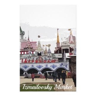 Izmailovsky Market_english Customised Stationery