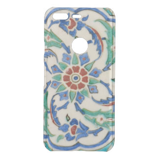 iznik ceramic tile from Topkapi palace Uncommon Google Pixel Case