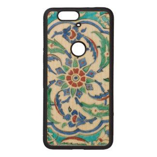 iznik ceramic tile from Topkapi palace Wood Nexus 6P Case