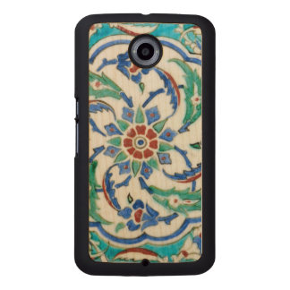 iznik ceramic tile from Topkapi palace Wood Phone Case