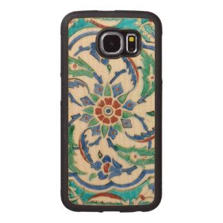 iznik ceramic tile from Topkapi palace Wood Phone Case