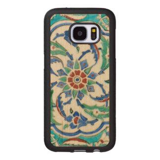 iznik ceramic tile from Topkapi palace Wood Samsung Galaxy S7 Case