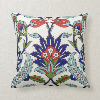 iznik ceramics pillow