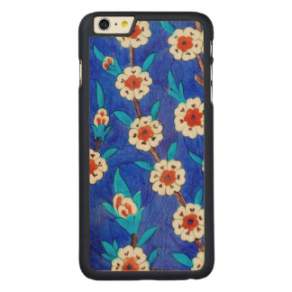 iznik tile from Topkapi palace Carved Maple iPhone 6 Plus Case