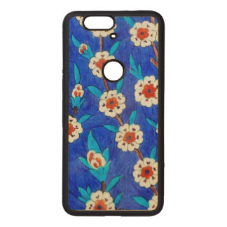 iznik tile from Topkapi palace Wood Nexus 6P Case