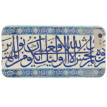 Iznik tiles with islamic calligraphy barely there iPhone 6 plus case