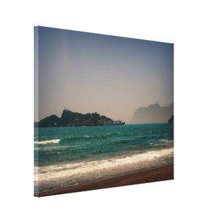Iztuzu Beach, Dalyan, Turkey Canvas Print