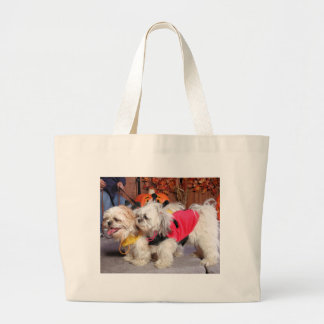 Izzy and Ozzie - Shih Tzus - Tingley Tote Bag