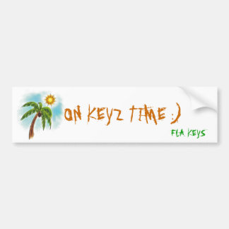 j0382594, ON KEYZ TIME :), FLA KEYS Bumper Sticker