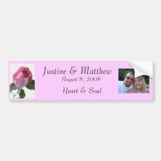 j0390509, CIMG0817 (2), Justine & Matthew, Augu... Bumper Sticker
