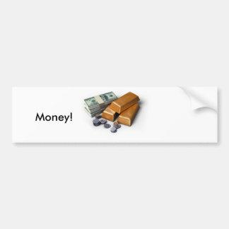 j0398811, Money! Bumper Sticker