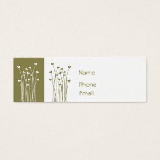 j0433235, Name, Phone, Email Mini Business Card