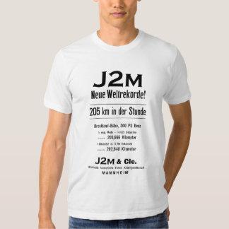 J2M Neue Weltrekorde Tee Shirt